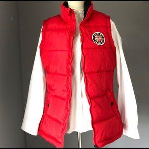 Madden Girl Red Vest Jacket.
